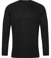 ls tee ante ante t-shirts long-sleeved svart björn borg