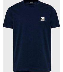 polera t diegos k30 t shirt azul diesel