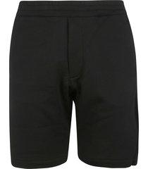 alexander mcqueen logo tape dtl shorts