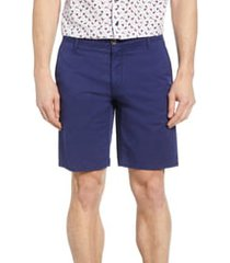 men's rodd & gunn the peaks regular fit shorts, size 33 - blue