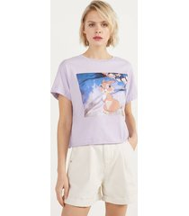 cropped t-shirt bambi