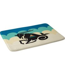 deny designs holli zollinger zodiac capricorn bath mat bedding