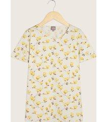 camiseta manga corta estampada escote redondo-14