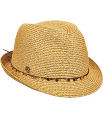 tommy bahama sequin accent cord fedora