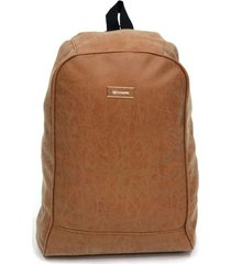 mochila marrón  boerss