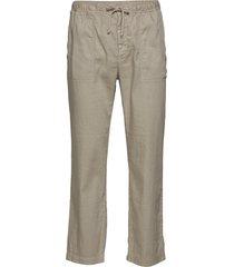 m. theodore linen trouser casual byxor vardsgsbyxor grå filippa k