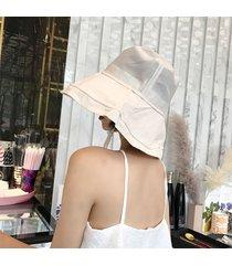 cappello estivo da pescatore estivo in cotone pieghevole cappello pescatore estivo da esterno protezione solare