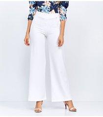 pantalones blanco derek 821298