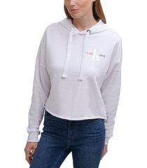 calvin klein jeans flag patch logo hoodie