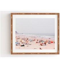 deny designs at the beach framed wall art