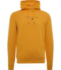 tommy hilfiger essential organic cotton terry hoodie | yellow | 17382-zp7