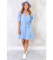 florence jurk babyblauw