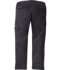 byxor med extra plats för magen men plus svart