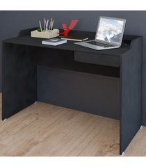 mesa escrivaninha slim ii gaveta preto - artany