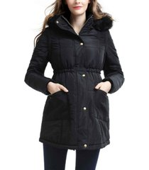 kimi + kai mina maternity vest convertible parka coat