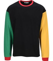 jw anderson colour block long sleeves t-shirt