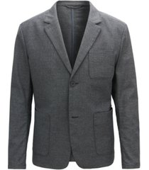 boss men's slim-fit two-tone blazer