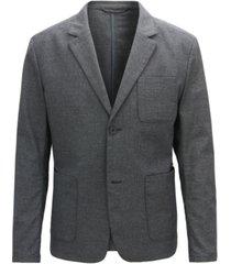 boss men's slim-fit two-tone blazer
