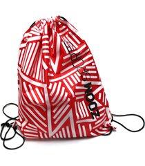 sackpack maleta training rojo