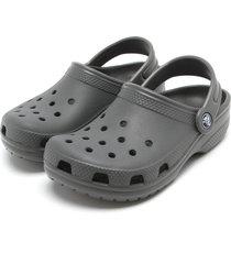 babuche crocs classic clog k cinza