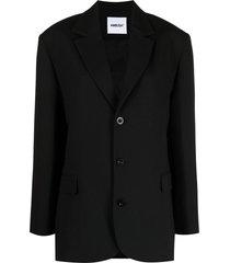 ambush single-breasted blazer - black