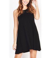 vestido negro verónica