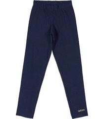 calça legging em cotton quimby azul