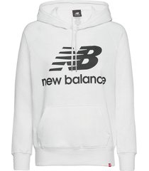 essentials pullover hoodie hoodie trui wit new balance