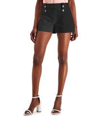 inc international concepts high-waist bengaline shorts, created for macy's