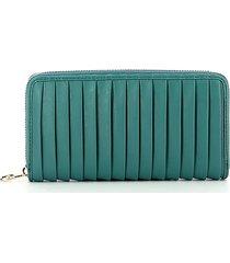 liu jo womens blue wallet