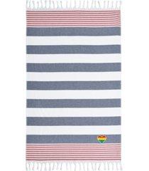 linum home textiles patriotic cheerful rainbow heart pestemal beach towel bedding