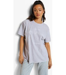 acid wash gebleekt zon en maan t-shirt, light grey