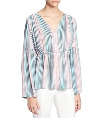 florrie striped blouse