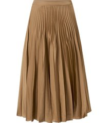 kjol slfharmony nw midi pleated skirt
