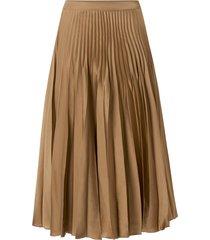 kjol slfharmony nw midi pleated skirt