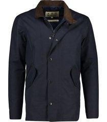 barbour winterjack chester donkerblauw