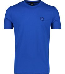 hugo boss t-shirt tales kobalt blauw