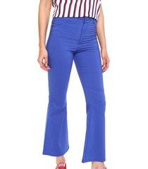 pantalón azul emmao oxford