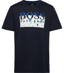 thady 1 t-shirts short-sleeved blå boss