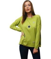 sweater verde oma fresia