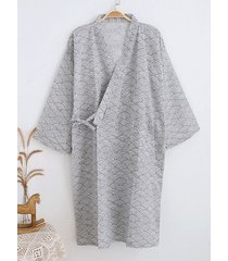 incerun hombre kimono japonés túnica albornoz envolvente bata