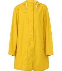 capa de chuva gap botões amarela