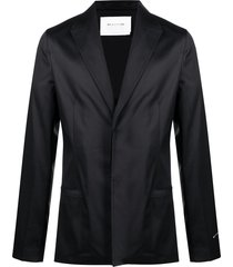 1017 alyx 9sm buttoned-up tailored blazer - black