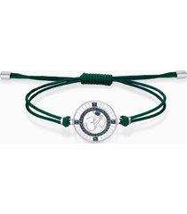 braccialetto sand, verde, acciaio inossidabile