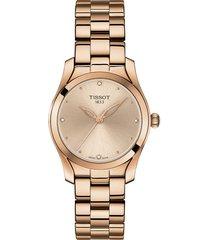 reloj tissot para mujer - t-wave  t112.210.33.456.00