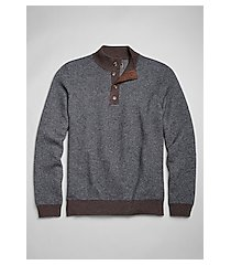 reserve collection jacquard mock neck men's sweater clearance