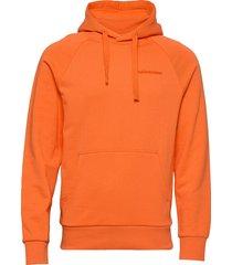 m urban hoodie hoodie trui oranje peak performance