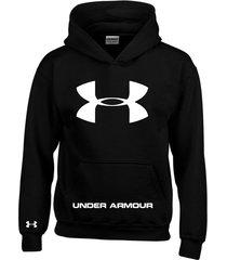 buzo estampado under armour con capota saco  hoodies
