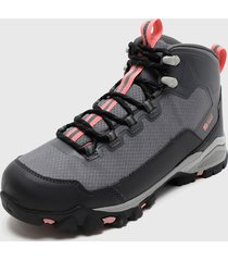 zapatilla talus mantel h2o gris power