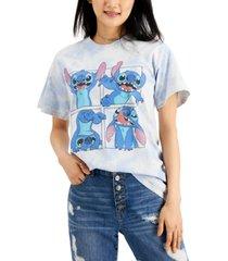 disney juniors' cotton stitch-graphic t-shirt